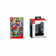Super Mario Odyssey Nintendo Switch + PowerA Cargador Joy Con Switch