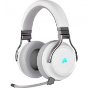 Безжичнни геймърски слушалки Corsair VIRTUOSO RGB WIRELESS High-Fidelity Gaming Headset - White