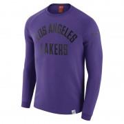 Los Angeles Lakers Nike Modern NBA-Langarmoberteil mit Rundhalsausschnitt für Herren - Lila