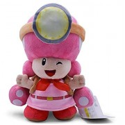 N-L Super Mario Bros Peluches Toad Toadette Mushroom Miners Adventure Mochila Soft Stuffed Dolls 20Cm