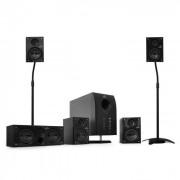 """Auna Sistema """"flash""""altavoces home cinema 5.1 + soportes (PL-10001884-10000148)"""