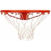 New Port Basketbalring Met Net 46 cm Oranje