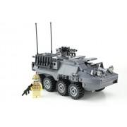 Battle Brick Custom Army Stryker Vehicle Made W/ Real Lego Bricks - Battle Brick Custom Set