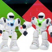 Kanzd Electronic Walk Smart Space Robot Astronaut Kids Fighting Light Toys (Multicolor)