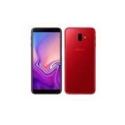 Samsung Galaxy J6+ Vermelho com Tela de 6?, 4G, 32 GB e Câmera de 13