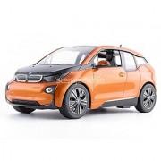 Radio Remote Control 1/14 Scale BMW i3 Authentic Body Styling RC Vehicles (Orange)