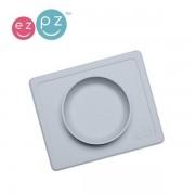 EZPZ Silikonowa miseczka dla dzieci do jedzenia z podkładką 2w1 Mini Bowl