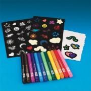 Velvet Art Stickers Craft Kit