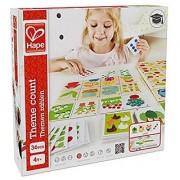 Hape - Home Education - Theme Count Math Card Game