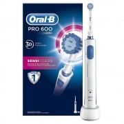 PROCTER & GAMBLE Oral-B, Pro 600 Sensi-Clean elektrische Zahnbürste, 1 Stück