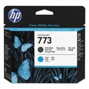 Hp 773, (c1q20a) Cyan/matte Black Printhead