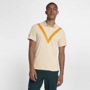 NikeCourt TechKnit Cool RF Advantage Tennis-Poloshirt für Herren - Cream