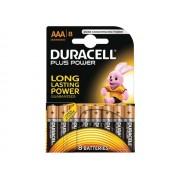 Standaard Duracell MN2400 plus AAA (per 8)