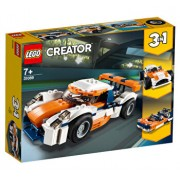 LEGO Creator 3 in 1, Masina de curse Sunset 31089
