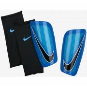 Canilleras Nike Mercurial Lite-Azul