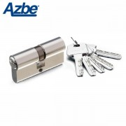 Bombin de seguridad AZBE HS7 Europerfil Niquel, 30x30