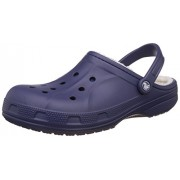 crocs Unisex Ralen Lined Clog Nautical Navy and Oatmeal Clogs and Mules - M7W9