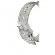 CaseMate Sheer Glam Strap - еластична каишка за Apple Watch 42mm (прозрачен-златист)