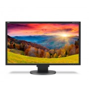 NEC MultiSync EA244WMi black 24.1' LCD monitor with LED backlight, IPS panel, resolution 1920x1200, VGA, DVI, DisplayPort, HDMI, speakers, 130 mm height adjustable