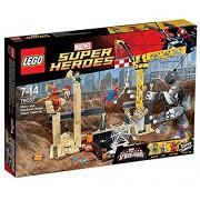 Lego Rhino And Sandman Super Vill, Multi Color