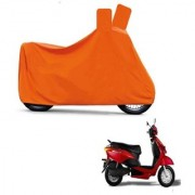 Kaaz Full Orange Two Wheeler Cover For Yo EXL