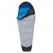 The North Face Blue Kazoo -9 graden Long Slaapzak zip left high rise grey/hyper blue
