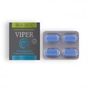CÁPSULAS ESTIMULANTES VIPER PARA HOMEM 4 CAPS