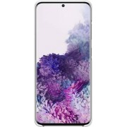 Samsung LED Back Cover EF-KG980 - Achterzijde behuizing voor mobiele telefoon - wit - voor Galaxy S20, S20 5G