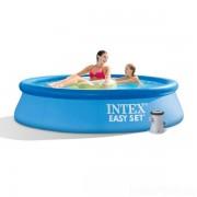 Intex 244x76cm puhafalú medence 1250l/h vízforgatóval 28112