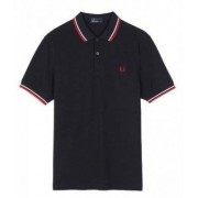 FRED PERRY Slim Fit Twin Tipped Shirt (S)