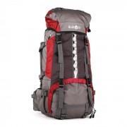 Klarfit Heyerdah trekkingryggsäck 70l toppmatad X-transition röd
