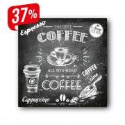 Coffee time - Vászonkép - 30x40