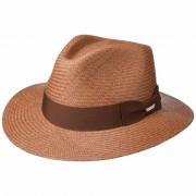 Stetson Chapeau Panama Brown marron
