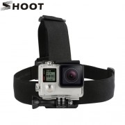CNYO® SHOOT élastique harnais sangle pour GoPro Hero 5 3 4 session SJCAM SJ4000 SJ5000 Xiaoyi Yi 4K caméra montage pour Go Pro accessoire