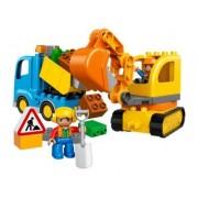 Lego Camión y excavadora con orugas