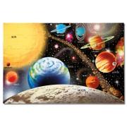 Puzzle de podea Sistemul Solar, Melissa and Doug