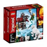 Lego set de construcción lego ninjago viaje de lloyd 70671