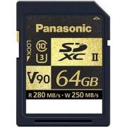 PANASONIC Cartão SDXC 64GB V90 UHS-II 280MB/s