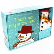 Usborne That's Not My Snowman Book and Toy - Ages 0-5 - Board Books - Fiona Watt