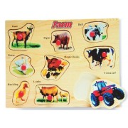 Puzzled 4330 Peg Puzzle Large - Farm 1