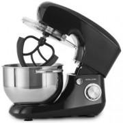 Robot tip Malaxor Andrew James AJ001367, 1400W, Bol Inox 5,5 Litri, 5 Accesorii fara BPA