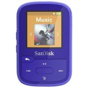 Mp3 Player SanDisk Clip Sport Plus, 16GB, Radio FM (Albastru)