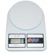 KVG Electronic Kitchen Digital Weighing Scale, Multipurpose, White, 10 Kg Weighing Scale (White) Weighing Scale(White)
