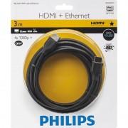 Cablu Philips SWV2433W/10 HDMI Male la HDMI Male Ethernet 3m negru