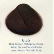 6.35 - blond auriu mahon inchis