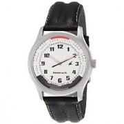 Fastrack Quartz White Round Men Watch NE3001SL01