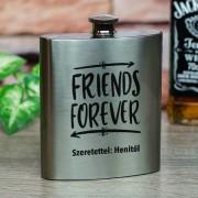 Egyedi fém flaska