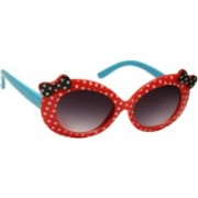 Redex Oval Sunglasses(For Girls)