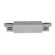 Mitteleinspeisung für 3-Phasen Schiene, weiß, Kunststoff, IP 20