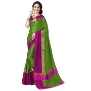 Shree Rajlaxmi Sarees Art Cotton Silk Party Wear New Collection Latest Design Trendy Women'S Self Design Saree/Sari